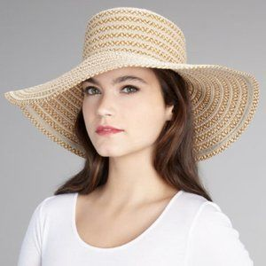Eric Javits Dame Floppy Sun Hat Packable Wide